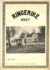 Heftet Ringerike 1927